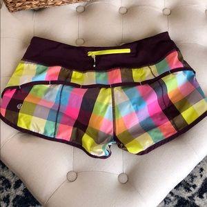 Speed shorts size 6